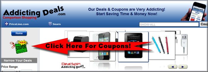 AddictingDeals Loves Coupons!