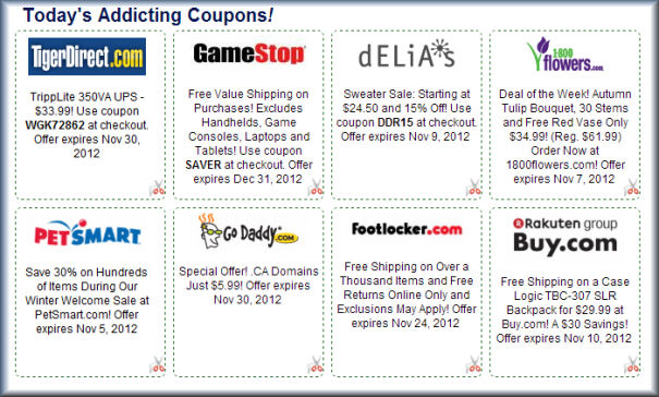Featured Coupons